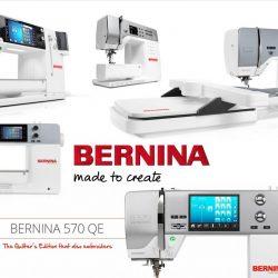 Bernina Sewing & Embroidery Machines