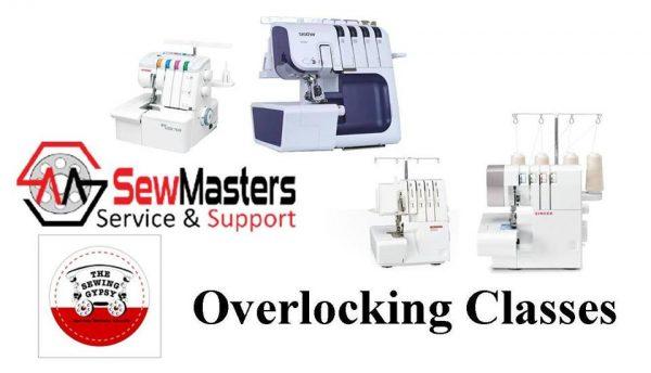 Overlocking #2 - Beyond The Basics @ SewMasters Sewing Machines | Riverhills | Queensland | Australia