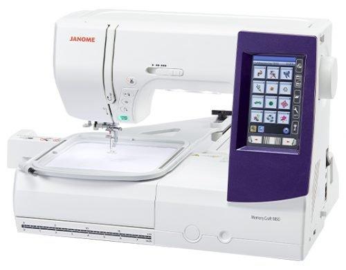 Janome Memory Craft 9850 sewmasters main