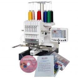 Janome MB7 Multi Needle Embroidery Machine