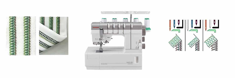 cp3000 stitch types