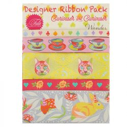 Tula Pink Ribbon Pack - Curiouser and Curiouser Wonder